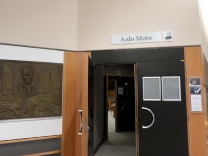 "Sala ""Aldo Moro"" al Parlamento europeo"
