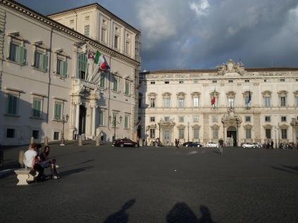 Palazzo del Quirinale e Palazzo della Consulta