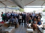 Gli anciens italiani del Collège con il sottosegretario Sandro Gozi, a Roma