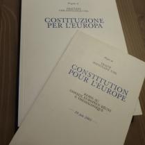 Il progetto di Costituzione per l'Europa