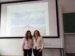 Con Katerina Piperigos, greca, di Atene