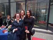 Con l'assessore Fabiana Marangoni