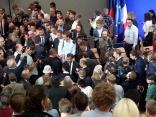 Un selfie con il Presidente: pourquoi pas?
