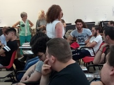 Tra gli studenti