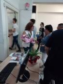 Con la vicepreside Silvana Sabatino