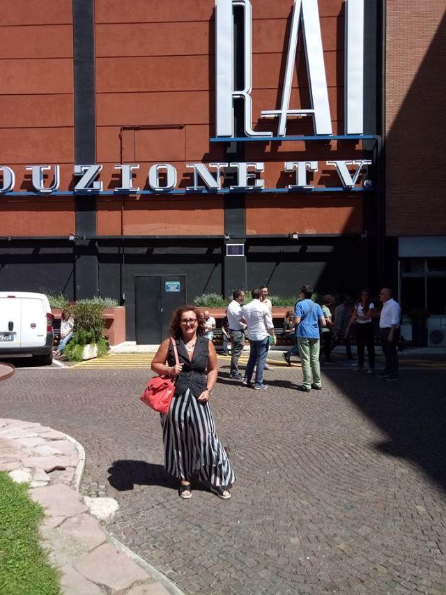 Alla RAI, nella storica sede di via Teulada