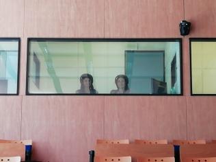 Le interpreti in cabina