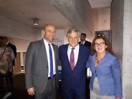 Sabaudia abbraccia il Presidente. Con Fabrizio Schintu