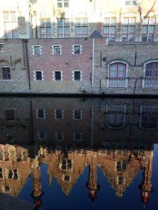 Bruges specchiata