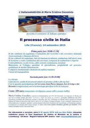 Il processo civile in Italia