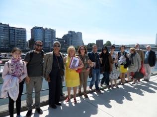 A Liegi, giugno 2015, celebrando Camilleri e Simenon