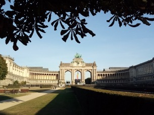 Il Cinquantenaire a Bruxelles