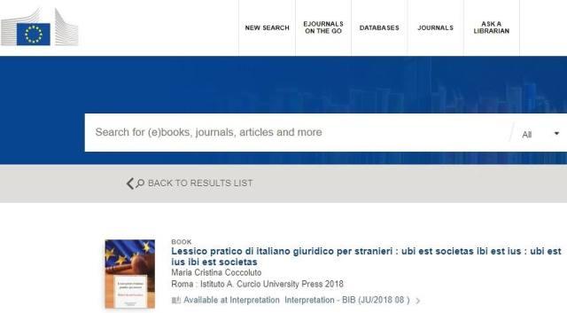 BibliotecaCommissioneLessico