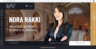 Sul sito di Nora Rakki