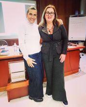 Con Olga Fernando