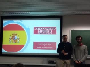 L'ordinamento giuridico della Spagna