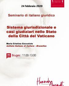 Sistema giurisdizionale Stato della Città del Vaticano